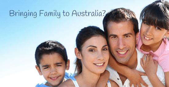 family visa australia